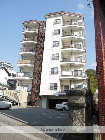 長野県松本市、松本駅バス24分湯坂下車後徒歩2分の築39年 8階建の賃貸マンション