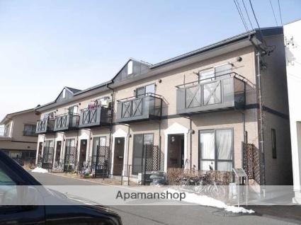 長野県松本市、松本駅バス15分清水中学校前下車後徒歩5分の築12年 2階建の賃貸テラスハウス