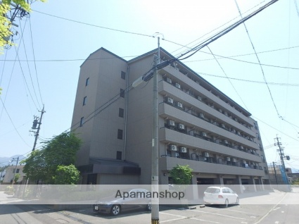 長野県松本市、松本駅徒歩12分の築22年 6階建の賃貸マンション