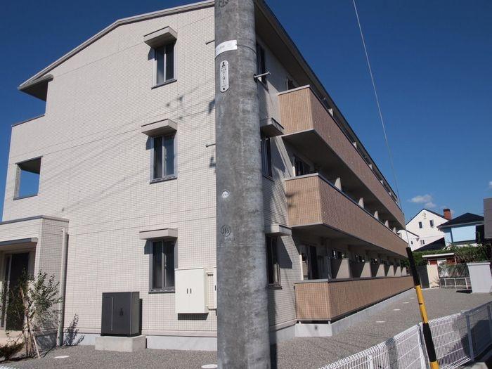 長野県松本市、南松本駅徒歩24分の新築 3階建の賃貸アパート