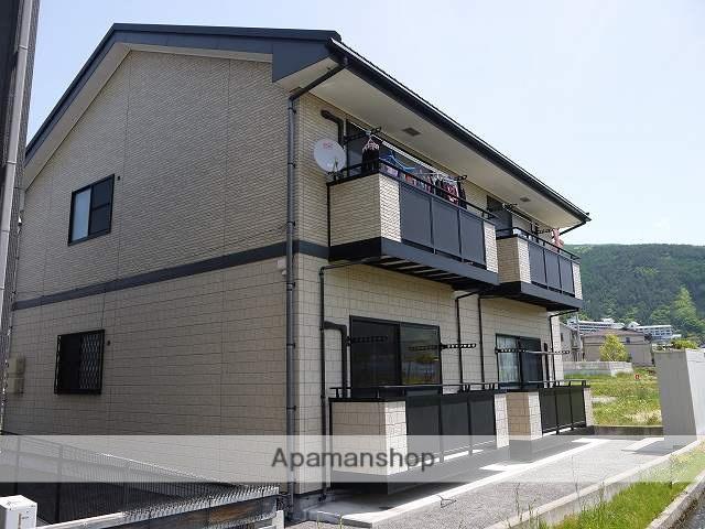 長野県松本市、松本駅松本電鉄バスバス12分新井口下車後徒歩6分の築10年 2階建の賃貸アパート