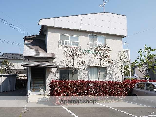 長野県松本市、松本駅徒歩30分の築23年 2階建の賃貸アパート