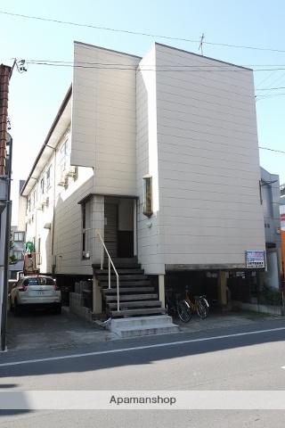 長野県松本市、松本駅アルピコバスバス14分大学西門下車後徒歩1分の築31年 2階建の賃貸アパート