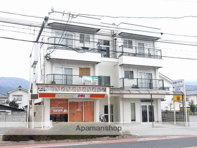 長野県松本市、松本駅バス12分北元町下車後徒歩2分の築35年 3階建の賃貸マンション