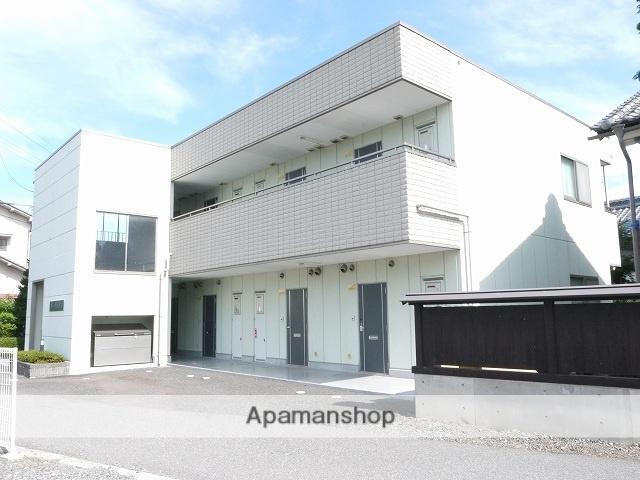 長野県松本市、新村駅徒歩10分の築17年 2階建の賃貸アパート