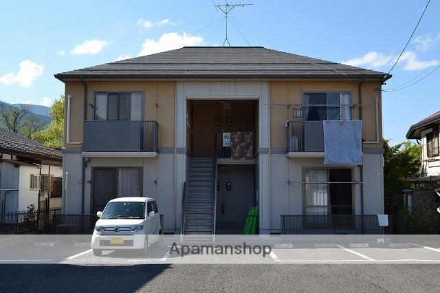 長野県松本市、下島駅徒歩23分の築15年 2階建の賃貸アパート