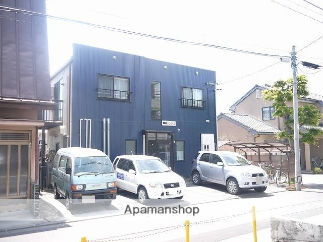 長野県松本市、松本駅バス13分元原町下車後徒歩4分の築28年 2階建の賃貸アパート