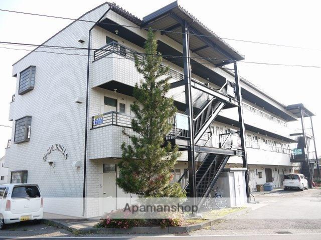 長野県松本市、南松本駅徒歩28分の築28年 3階建の賃貸マンション