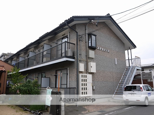 長野県松本市、松本駅バス12分和泉町下車後徒歩5分の築17年 2階建の賃貸アパート
