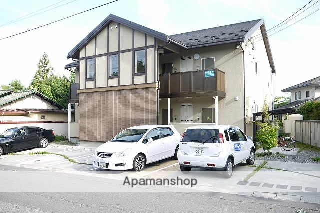 長野県松本市、北松本駅徒歩40分の築9年 2階建の賃貸アパート