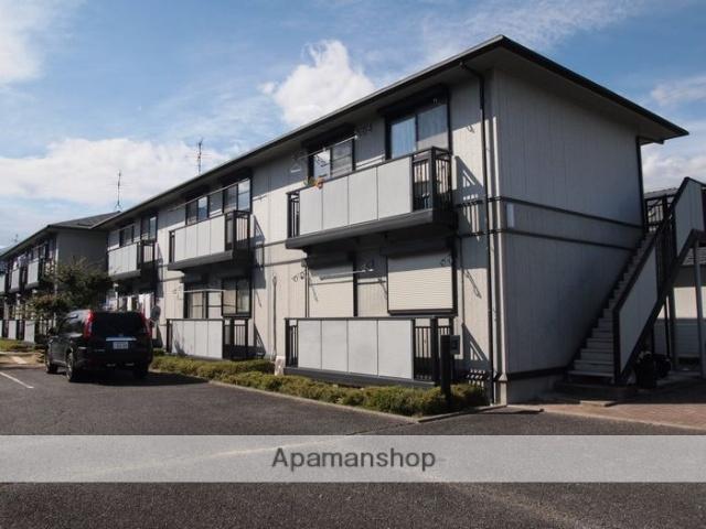 長野県松本市、波田駅徒歩8分の築20年 2階建の賃貸アパート