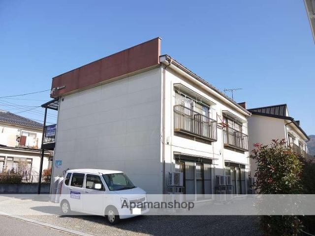 長野県松本市、松本駅バス25分松岡下車後徒歩5分の築28年 2階建の賃貸アパート