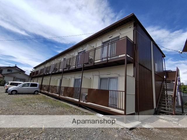 長野県松本市、松本駅アルピコバスバス18分水汲下車後徒歩4分の築34年 2階建の賃貸アパート