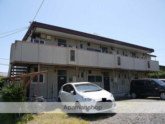 長野県松本市、松本駅バス14分大学西門下車後徒歩8分の築34年 2階建の賃貸アパート