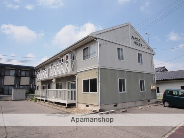 長野県松本市、村井駅徒歩20分の築26年 2階建の賃貸アパート