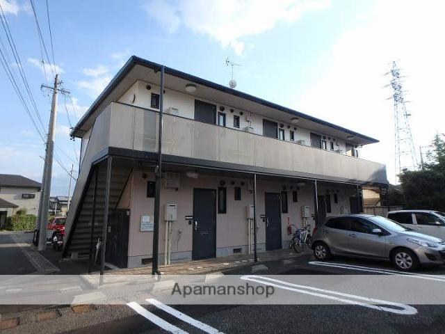 長野県松本市、松本駅バス14分南浅間下車後徒歩8分の築16年 2階建の賃貸アパート