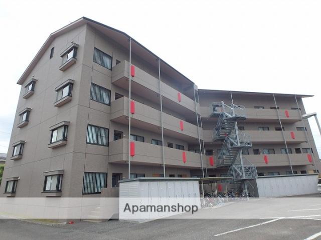 長野県松本市、松本駅バス13分横田下車後徒歩9分の築19年 4階建の賃貸マンション