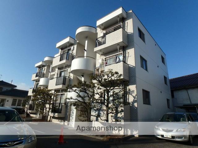 長野県松本市、松本駅バス9分霞町下車後徒歩3分の築40年 3階建の賃貸マンション