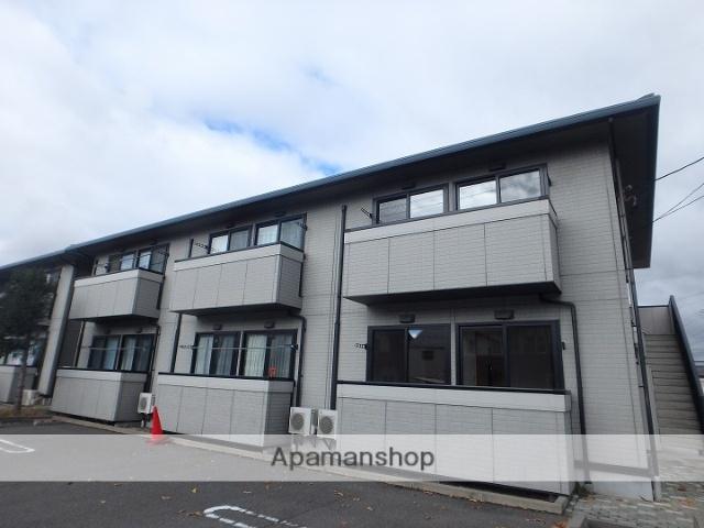 長野県松本市、松本駅バス20分野溝口下車後徒歩8分の築15年 2階建の賃貸アパート