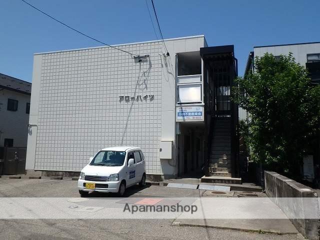長野県松本市、松本駅アルピコバスバス13分南浅間下車後徒歩2分の築32年 2階建の賃貸マンション
