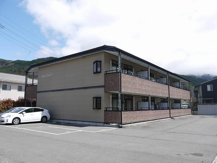 長野県松本市、松本駅バス22分新井口下車後徒歩5分の築14年 2階建の賃貸アパート
