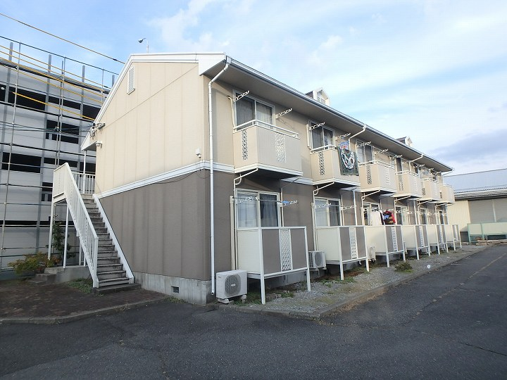 長野県松本市、南松本駅徒歩27分の築25年 2階建の賃貸アパート