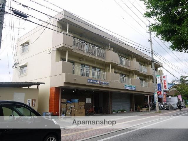 長野県松本市、松本駅アルピコバスバス16分総合体育館下車後徒歩2分の築35年 3階建の賃貸マンション