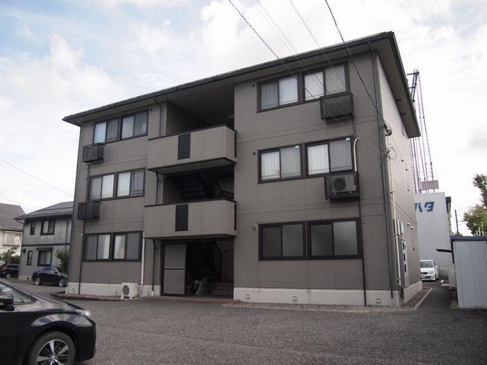 長野県松本市、松本駅バス14分野溝口下車後徒歩10分の築16年 3階建の賃貸アパート
