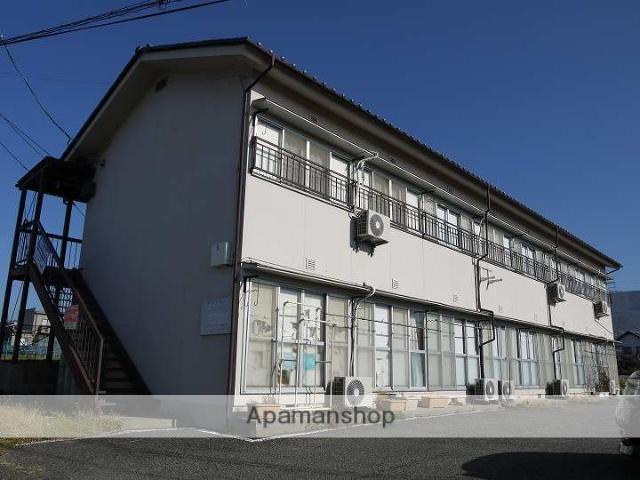 長野県松本市、松本駅バス17分松岡下車後徒歩7分の築39年 2階建の賃貸アパート
