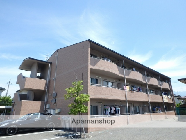 長野県松本市、松本駅バス15分笹部下車後徒歩2分の築14年 3階建の賃貸マンション