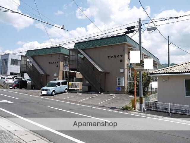 長野県松本市、松本駅バス24分松岡口下車後徒歩2分の築31年 2階建の賃貸アパート