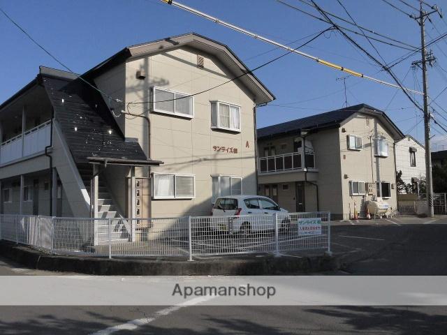 長野県松本市、松本駅バス20分白金町下車後徒歩4分の築24年 2階建の賃貸アパート