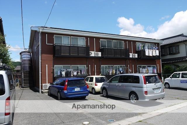 長野県松本市、松本駅徒歩60分の築22年 2階建の賃貸アパート