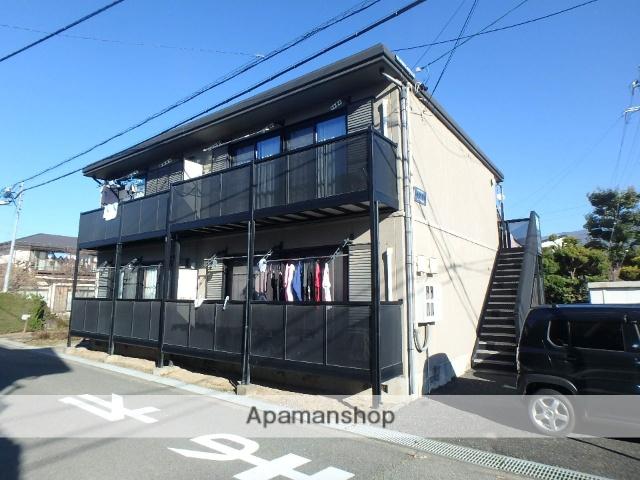 長野県松本市、平田駅徒歩8分の築17年 2階建の賃貸アパート
