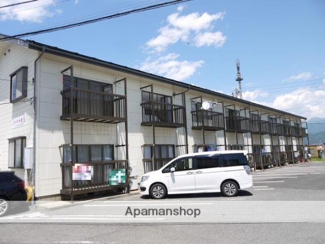 長野県松本市、平田駅徒歩18分の築21年 2階建の賃貸アパート