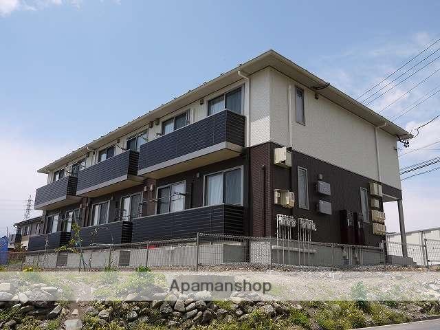 長野県松本市、松本駅バス25分岡田東区下車後徒歩9分の築3年 2階建の賃貸アパート