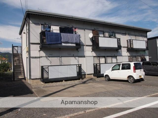 長野県松本市、下島駅徒歩27分の築23年 2階建の賃貸アパート