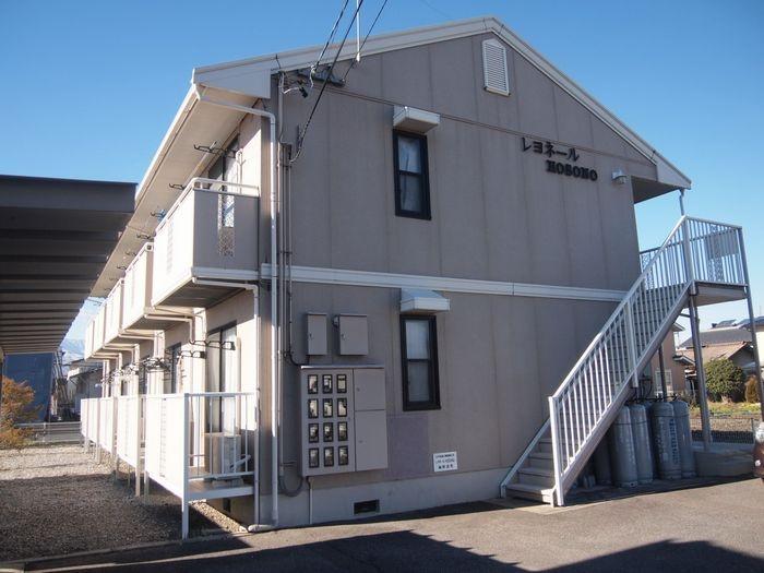 長野県松本市、南松本駅徒歩17分の築24年 2階建の賃貸アパート