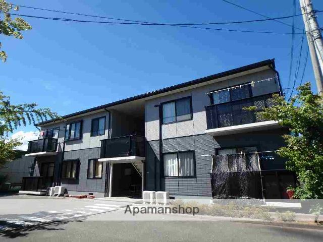 長野県松本市、松本駅徒歩21分の築20年 2階建の賃貸アパート