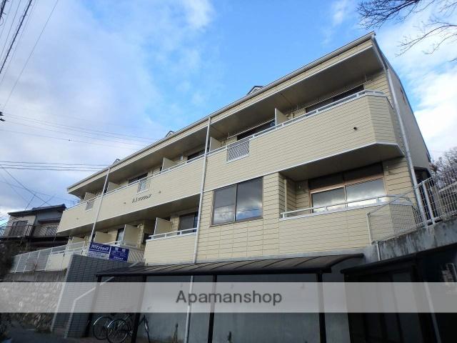 長野県松本市、松本駅アルピコバスバス22分中浅間下車後徒歩9分の築21年 2階建の賃貸マンション