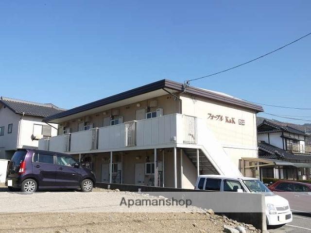 長野県松本市、松本駅アルピコバスバス16分松岡下車後徒歩10分の築27年 2階建の賃貸アパート