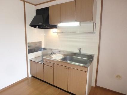 ベルク・ヴィラ A棟[3DK/61.87m2]のキッチン