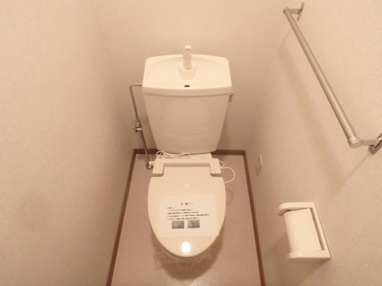 ベルク・ヴィラ A棟[3DK/61.87m2]のトイレ