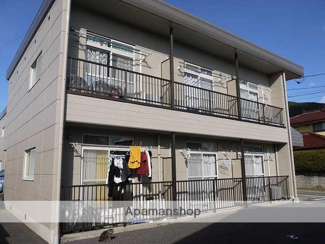 長野県松本市、松本駅バス13分自動車学校前下車後徒歩10分の築27年 2階建の賃貸アパート