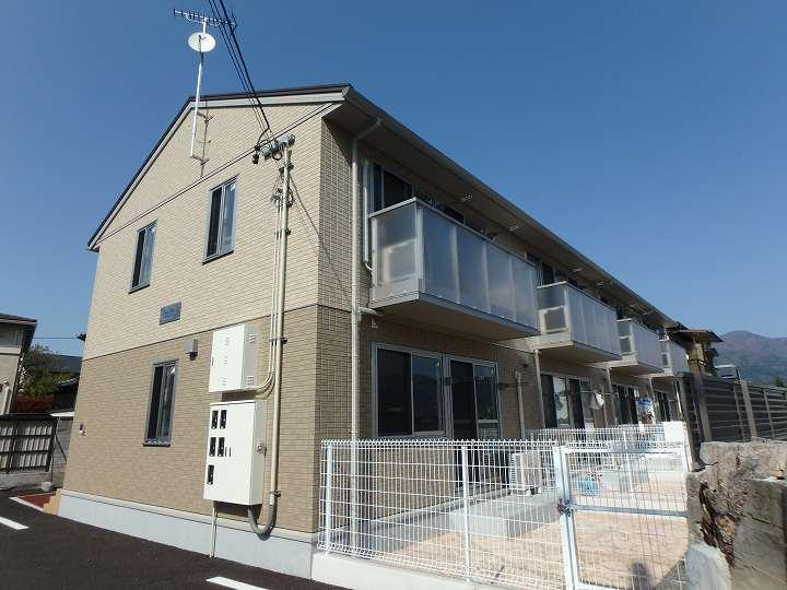 長野県松本市、北松本駅徒歩19分の新築 2階建の賃貸テラスハウス