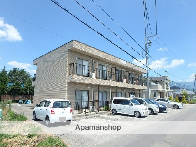 長野県松本市、渚駅徒歩19分の築21年 2階建の賃貸アパート