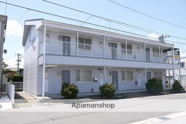 長野県松本市、南松本駅徒歩24分の築23年 2階建の賃貸アパート