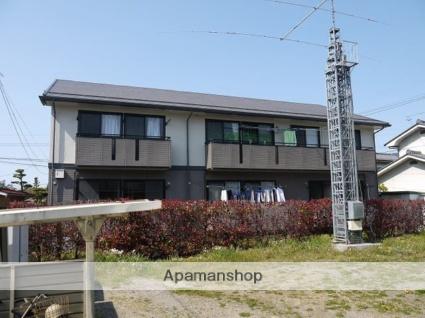長野県松本市、南松本駅徒歩35分の築21年 2階建の賃貸アパート