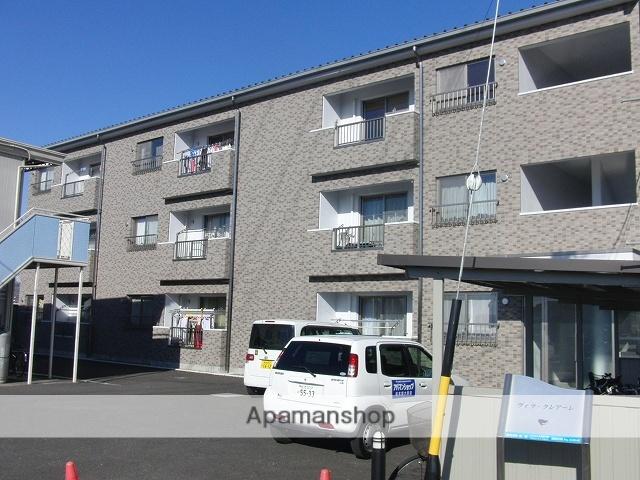 長野県松本市、松本駅バス15分清水東区下車後徒歩6分の築8年 3階建の賃貸マンション