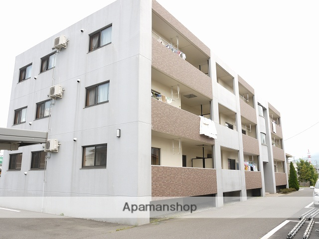 長野県松本市、松本駅バス20分笹部下車後徒歩3分の築11年 3階建の賃貸マンション